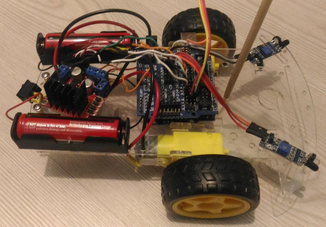 Машинка-ардуинка: перезагрузка: ИК-датчики