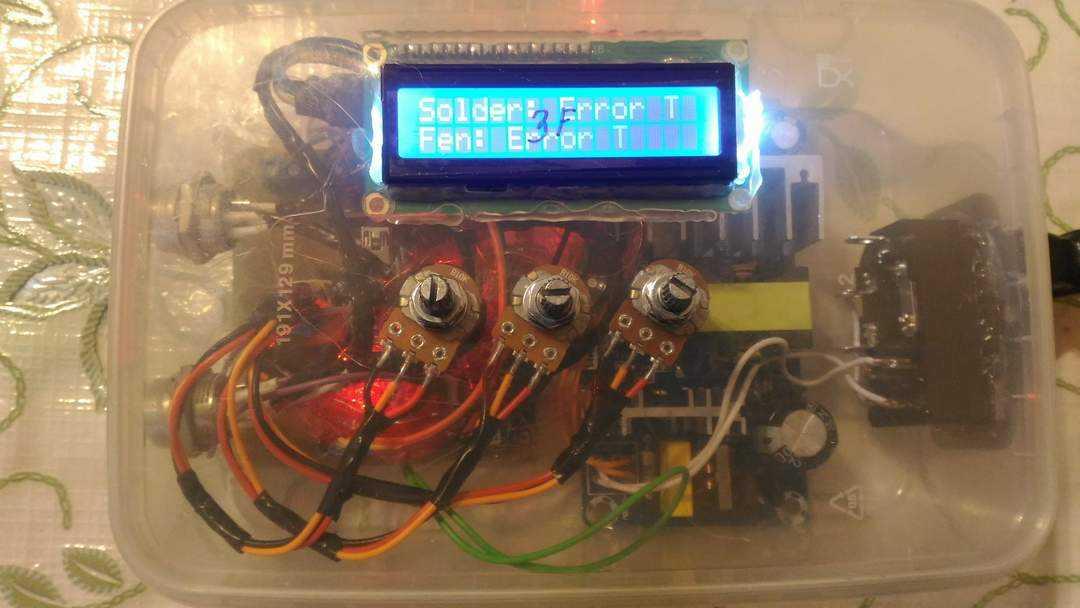 Паяльная станция на Arduino простым языком