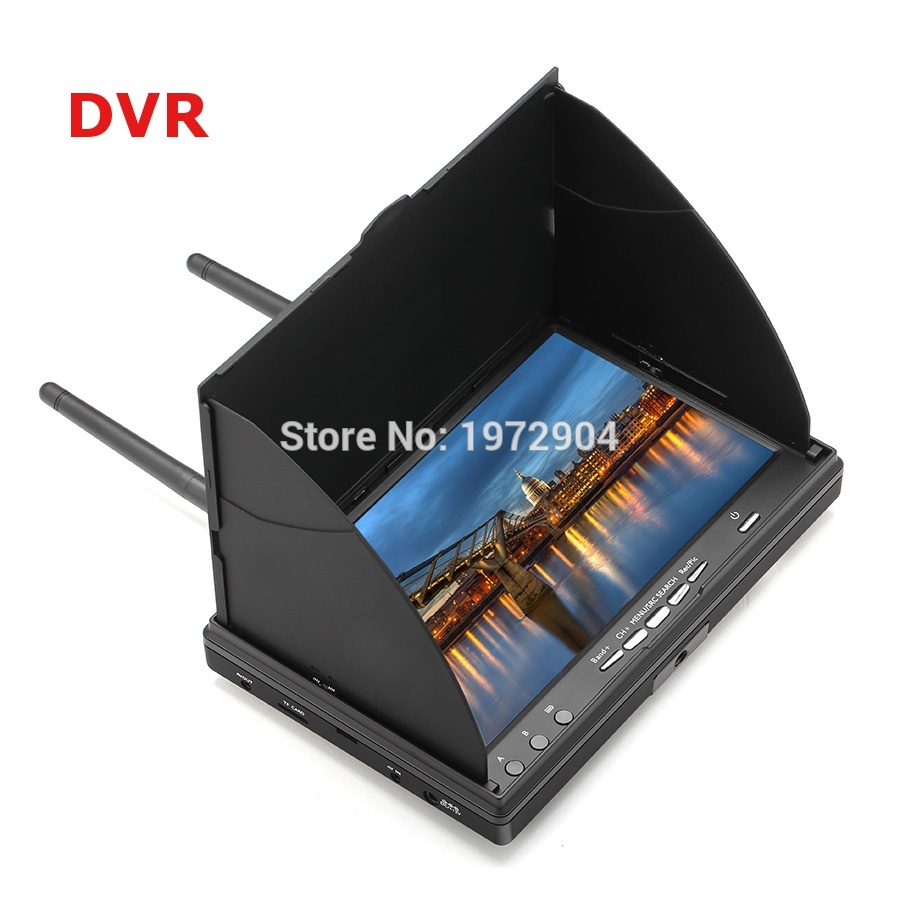 Обзор FPV-монитора LCD5802d с DVR